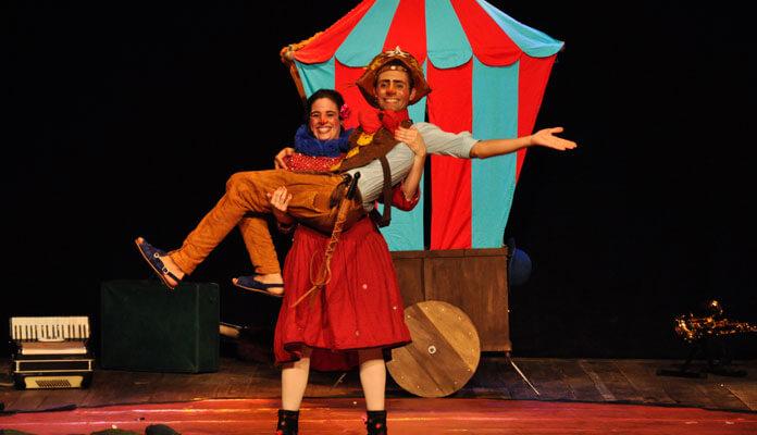 Peça tem entrada gratuita no Teatro Virgínio Ometto às 16h (Foto: Marília Chalegre)