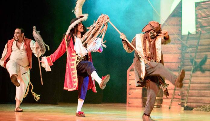 """Peça se chama """"Aventura no Reino das Fadas e Piratas"""" e começa às 16h (Foto: @grfotoevideo)"""