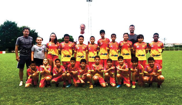 Equipe de Iracemápolis da categoria sub-11 (Foto: Divulgação)
