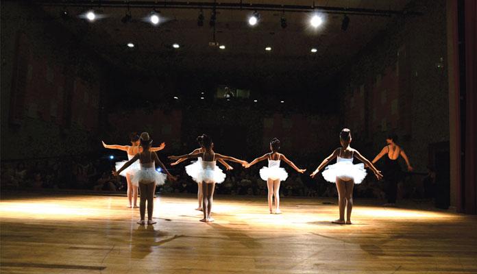 Apresentações marcaram o fim de ano; cursos culturais retornam em 2020 (Foto: Tuany Kempe)