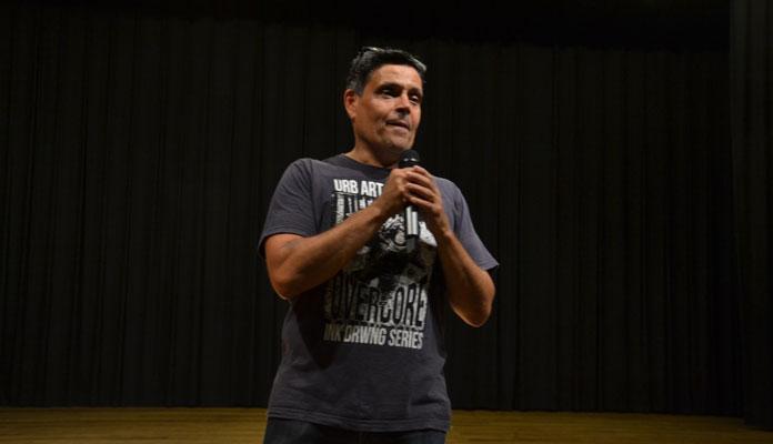 Reinaldo agradece Amaci, profissionais e público presente nas apresentações (Foto: Divulgação)