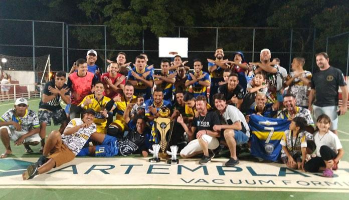 Equipe de Iracemápolis venceu o Vila Mercedes, de Engenheiro Coelho, por 8 a 4 (Foto: Divulgação)