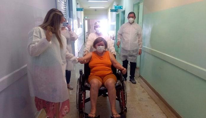 Prefeitura deu publicidade ao nome dos pacientes: Jacira Aparecida Corte Santos, Maria Jose Correia de Menezes e Rudney Valentin Buck (Foto: Divulgação)
