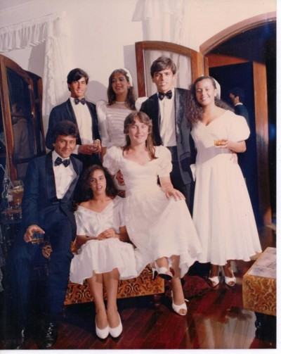 Marcos manfredi Jorge costa Marcia toledo Pedrinho dentista Andrea bento Ieda menezes 1985