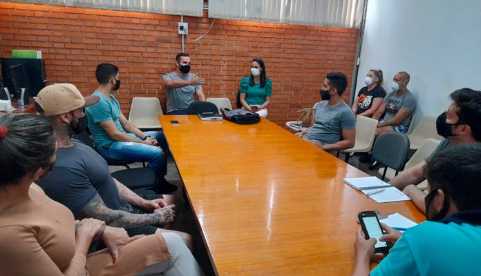 Encontro aconteceu na tarde desta quinta-feira (22) (Foto: Divulgação)