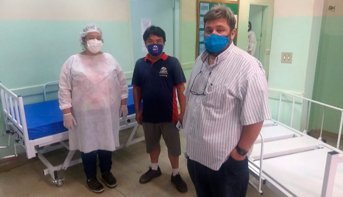 Vice-prefeito agradeceu ao apoio de todos que têm colaborado neste momento da pandemia (Foto: Divulgação)