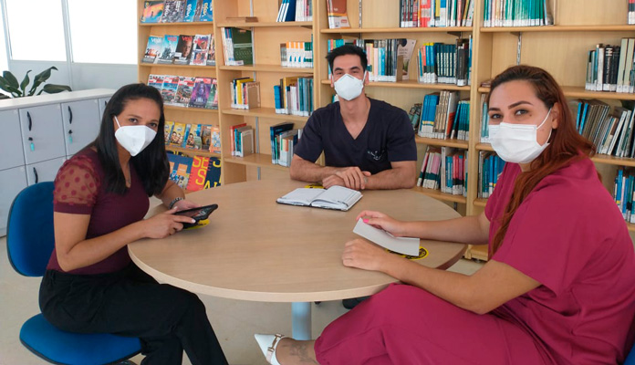 Equipe desenvolve perguntas e respostas para apoiar população neste momento da pandemia (Foto: Divulgação)