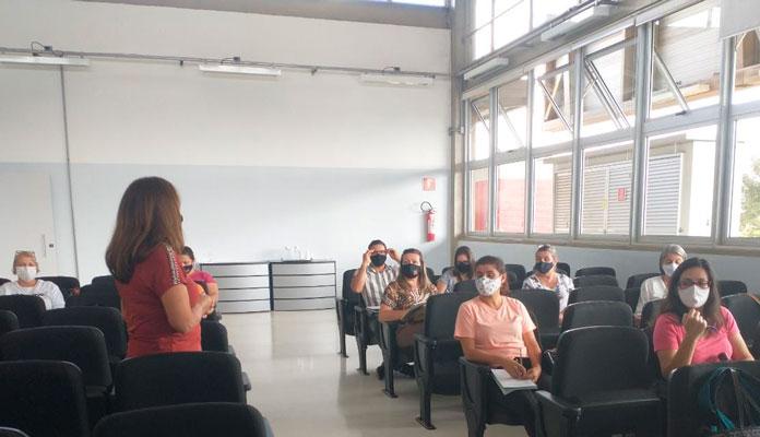 Ação visou sanar dúvidas de todos os educadores sobre os protocolos de segurança (Foto: Divulgação)