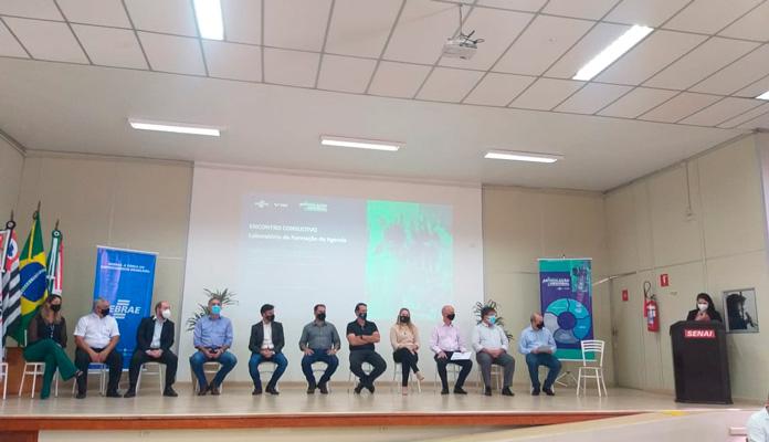 Coordenador de Desenvolvimento Econômico, Wilson Aparecido da Silva, também compareceu ao evento, em Piracicaba (Foto: Divulgação)