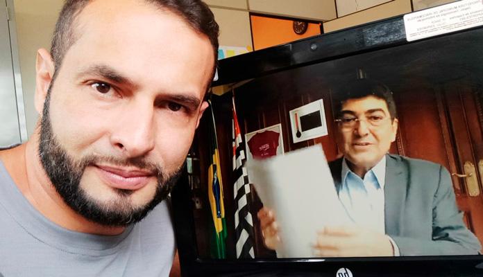 João Cleber participou do evento online (Foto: Divulgação)