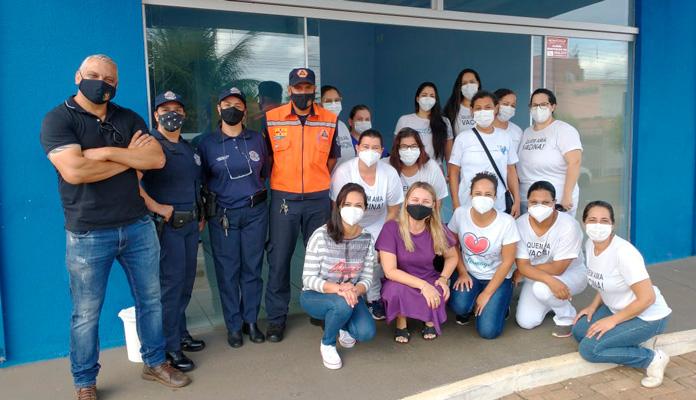 Ação ocorreu das 8h às 12h na Unidade de Saúde Noé Franco de Campos, no Residencial Aquárius (Foto: Divulgação)