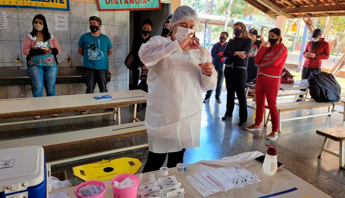 Saúde organizou cronograma para atendimento por escola (Foto: Divulgação)