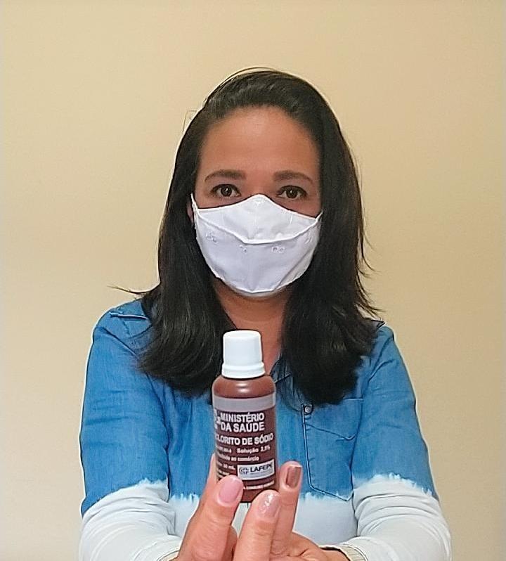 Hipoclorito de sódio a 2,5% é disponibilizado gratuitamente pelo Ministério da Saúde e encaminhado aos municípios (Foto: Divulgação)